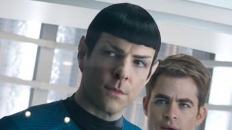 Zachary Quinto (Spock) i Chris Pine (capità James T. Kirk) PARAMOUNT