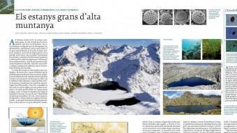 El nou Atles es complementa amb els 16 volums de 'Història Natural dels Països Catalans',    PUBLICATS ENTRE 1983 I 1992 SOTA LA DIRECCIÓ DE RAMON FOLCH I AMB LA COL·LABORACIÓ DE MÉS DE 300 EXPERTS