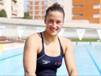 Belmonte, a la piscina del CN Sabadell A. PUIG