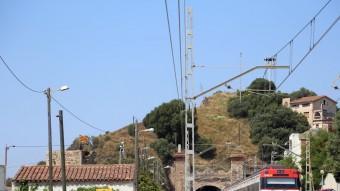 El túnel del ferrocarril de Montgat és el més antic de l'Estat. QUIM PUIG