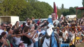Torneig medieval durant la 20a edició del festival Terra de Trobadors a Castelló d'Empúries ALBERT VILAR