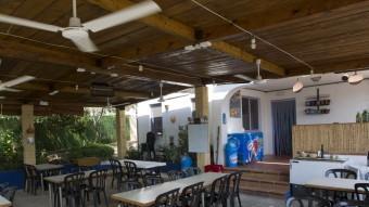 La terrassa del restaurant Bona Teca J.C.LEÓN