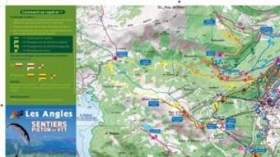 El nou mapa de senderisme d' Els Angles