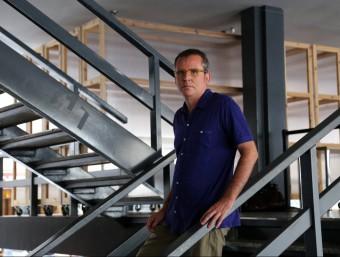 L'arquitecte Josep Torrents, ahir QUIM PUIG