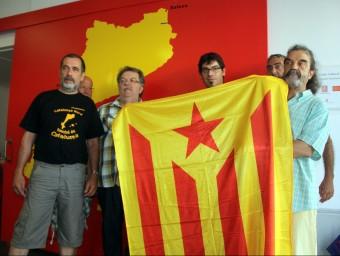 Els impulsors de la cadena humana per la independència a la Catalunya del Nord ACN