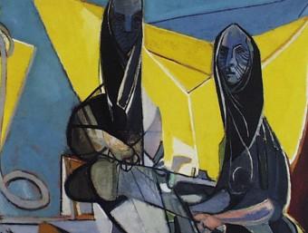 'Les sargidores de Cotlliure' (1946), una de les obres centrals de l'exposició de Pignon COL·LECCIÓ LES CHAUX-DE-FONS, SUÏSSA