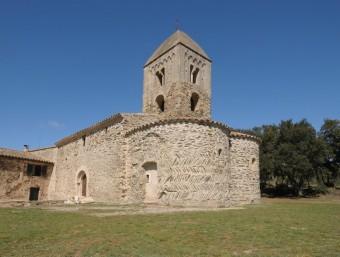 Santa Maria de Fitor, d'estil romànic, va ser consagrada el 29 de gener del 948 EL PUNT AVUI
