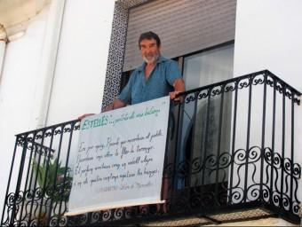 Homenatge al poeta de Burjassot a les balconades de la vall de Vernissa. EL PUNT AVUI