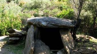 El dolmen de la Vinya del Rei és el més gran del terme municipal de Vilajuïga EUDALD PICAS