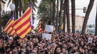 Manifestació a favor de la llengua catalana a les Illes Balears que es va fer a Palma de Mallorca el 3 de setembre passat OCB