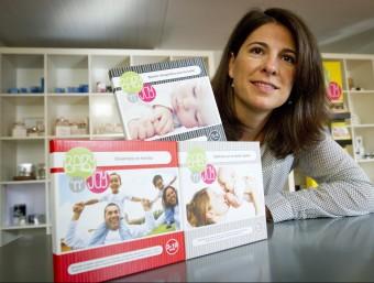 Raquel Abulí és una dels tres socis que van fundar Baby'n'Joy el 2012.  ALBERT SALAMÉ