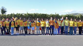La Via Catalana a Avinyonet del Penedès JUANMA RAMOS