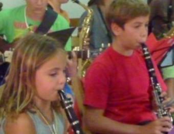Membres de l'orquestra EL PUNT AVUI
