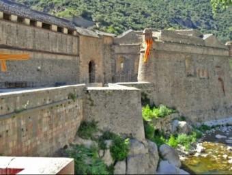 Fortificacions de la ciutadella de Vilafranca del Conflent, a la Catalunya nord.  ARXIU