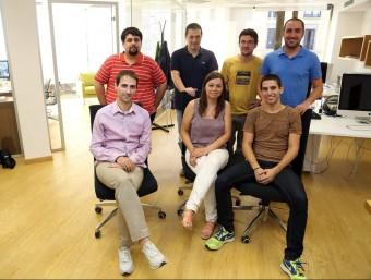 L'equip complet de Luxus Travel a les seves oficines a Barcelona.  JUANMA RAMOS
