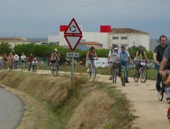 Participants d ela ruta verda en altres edicions. ARXIU EL PUNT AVUI
