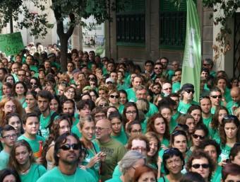 Protesta de docents de les Balears ARXIU
