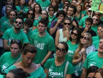 Milers de persones van sortir al carrer en rebuig del TIL imposat per Bauzà ASS. DOCENTS