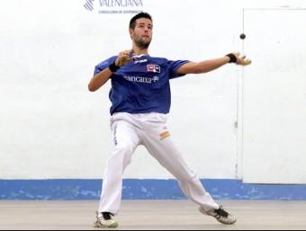 Rodrigo juga una pilota en l'individual Bancaixa d'aquesta temporada. FREDIESPORT