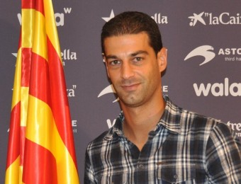Gerard López, a la seu de la federació FCF