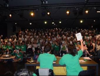 Una assemblea de docents de les illes Balears ELPUNTAVUI