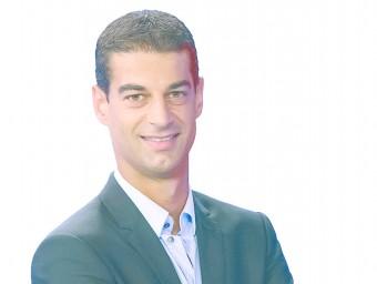 El seleccionador, Gerard López, en una imatge promocional de TV3, on treballa com a analista tècnic des de la temporada passada EL 9