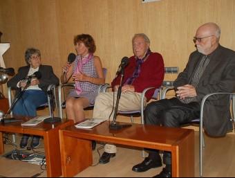 L'acte d'ahir, amb Huerta, Noguer, Vallès i Dalfó X.C