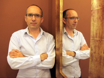 El periodista i escriptor Toni Orensanz és l'autor de la novel·la L'estiu de l'amor, que recrea l'estada de Picasso i la seva companya sentimental a Horta de Sant Joan. JUDIT FERNÀNDEZ