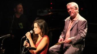 Andrea Motis i Xicu Masó, dissabte a l'Auditori de Girona LLUÍS SERRAT
