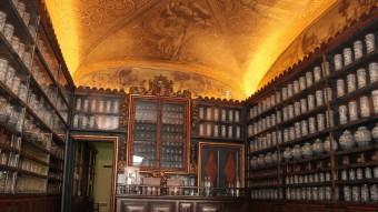 La farmàcia històrica del Santa Caterina s'ha restaurat i té aquest aspecte JOAN SABATER