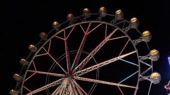 La roda, en una imatge d'ahir a la nit. JOAN SABATER