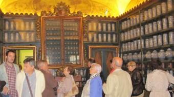 La reobertura de l'antiga farmàcia de l'antic hospital Santa Caterina.  D.V.