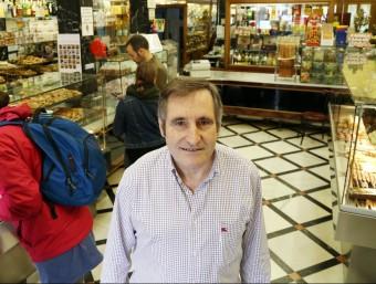 Josep Maria Roig, a La Colmena.  ANDREU PUIG