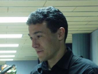 Xavi Aguado , en una imatge d'arxiu JUDIT FERNÁNDEZ