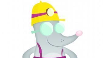 La mascota del Geoparc de la Catalunya Central