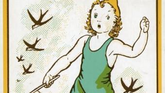 Imatge de la portada del llibre El més petit de tots, que Lola Anglada va publicar el 1937. EL PUNT AVUI