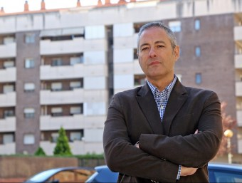 Pedro García és un dels tres socis fundadors de Smartfincas.  JUANMA RAMOS