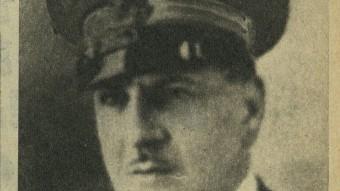 El tinent coronel Girorgio Morpurgo, que va decidir morir en combat després de ser depurat per ser fill de jueus.