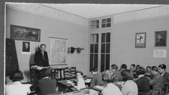 Una classe als anys trenta. MJC