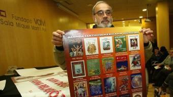 L'impulsor de la campanya de l'agenda Llatinoamericana, Jordi Planas. J.S