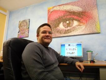 Sergi Solé és al capdavant de l'empresa, fundada amb el seu pare.  QUIM PUIG