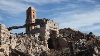 Corbera d'Ebre, la imatge de la destrucció després de la batalla de l'Ebre Elisabeth Magre