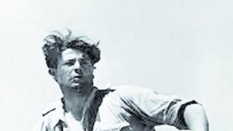 Juan Modesto Guilloto en una imatge en un moment del conflicte bèl·lic que s'han conservat d'aquest general republicà EL PUNT AVUI