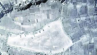 Aeròdrom de Sabanell el mes de gener del 1939 ESTACIÓ TERRITORIAL RECERCA DEL PENEDÈS-ARCHIVO HISTÓRICO EJÉRCITO DEL AIRE