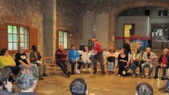 Una reunió anual de la Coordinadora d'ONG solidàries de les comarques gironines i l'alt maresme. EL PUNT AVUI