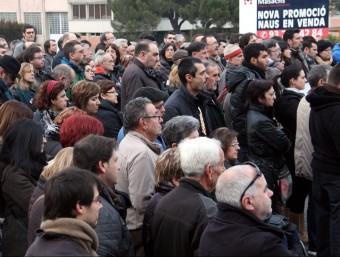 Els assistents han guardat alguns minuts de silenci en memòria de les víctimes ACN