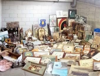 Algunes de les peces d'art recuperades pels mossos ACN
