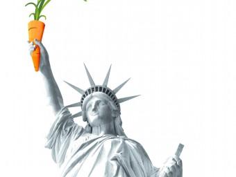 La Llibertat amb la pastanaga , UNA IMATGE QUE MARCÉ TAMBÉ VA MOSTRAR A NOVA YORK TDB