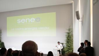 Acte de presentació de la cooperativa elèctrica Seneo. CEDIDA PER SENEO