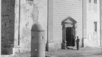 Una imatge de l'antiga Església del Collell, que va ser la presó de 200 dones durant els dies finals de la guerra. C. PÉREZ DE ROZAS